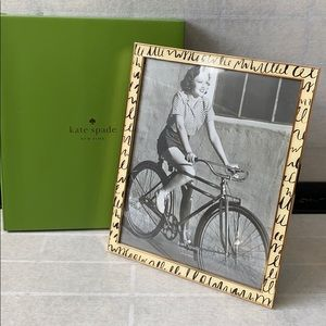 Kate Spade Everdone Doodle Picture Frame 8X10